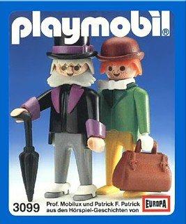 Playmobil 3099 - Professor Mobilux - Box