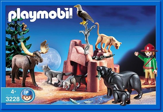 Playmobil 3228s2 - Wild Animals - Box