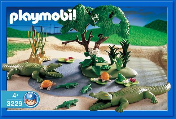 Playmobil 3229s2 - Famille d`alligators - Boîte