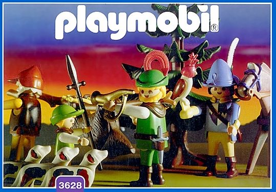 Playmobil 3628 - Hunting Party - Box