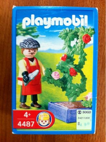 Playmobil 4487 - Rosengärtner - Box