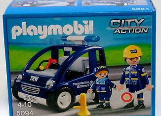 Playmobil - 5094 - THW trainer vehicle