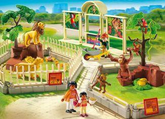 Playmobil - 5969-usa - Large Zoo