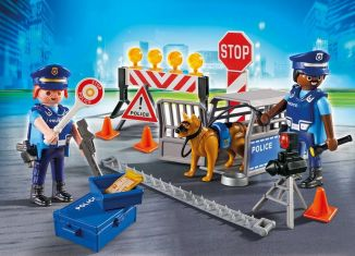 Playmobil - 6924 - Police Roadblock