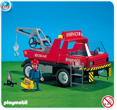 Playmobil 7296 - Classic Edition Tow-Truck - Box