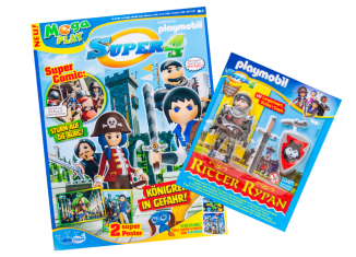 Playmobil - 80807-ger - Super 4-Magazin 01/2017 (Heft 8)