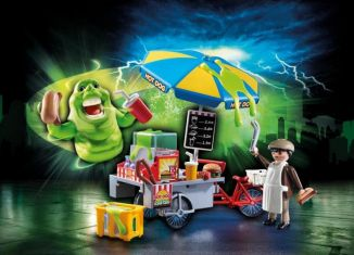 Playmobil - 9222 - Slimer with Hot Dog Stand
