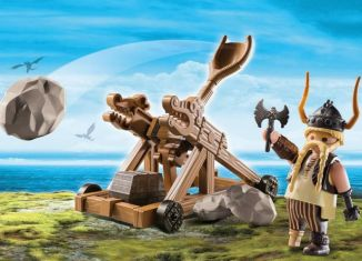 Playmobil - 9245 - Gobber with Catapult
