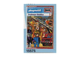 Playmobil - 15575-ger - Professor Mobilux 5: Der Feuerteufel