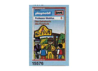 Playmobil - 15576-ger - Professor Mobilux 6: Das Geheimnis des Ponyhofs