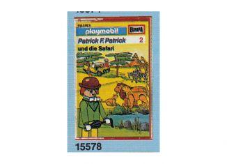 Playmobil - 15578-ger - Patrick F. Patrick 2: Die Safari