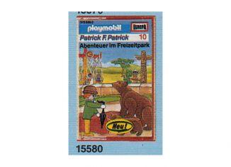 Playmobil - 15580-ger - Patrick F. Patrick 10: Abenteuer im Freizeitpark
