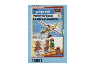 Playmobil - 15581-ger - Patrick F. Patrick 11: Die Eismeer-Expedition
