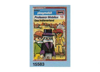 Playmobil - 15583-ger - Professor Mobilux 13: Das Indianerland