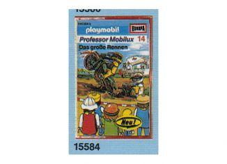 Playmobil - 15584-ger - Professor Mobilux 14: Das große Rennen