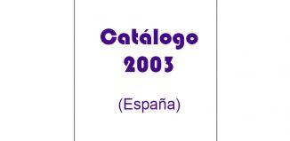 Playmobil - 00000-esp - Catalogue 2003