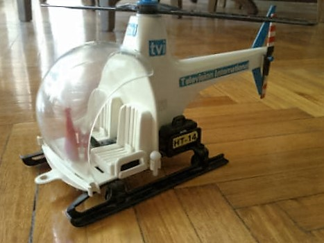 Playmobil 23.70.3-trol - tvi helicopter - Back