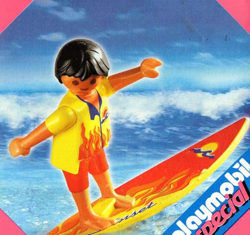 Playmobil 4637 - Surfer - Box