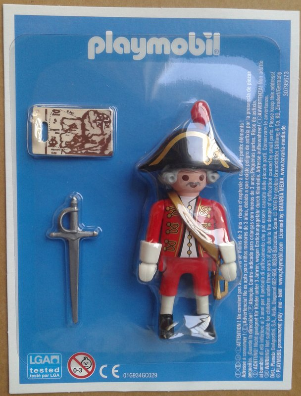 Playmobil LADLH-38 - English captain - Box