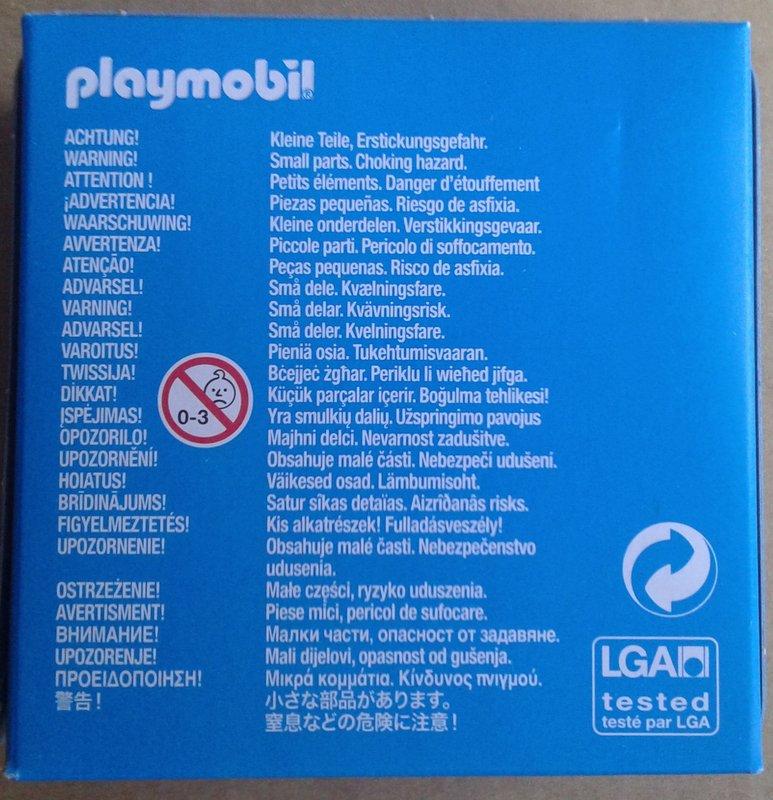 Playmobil 9124-ger - Johann Wolfgang Goethe - Back