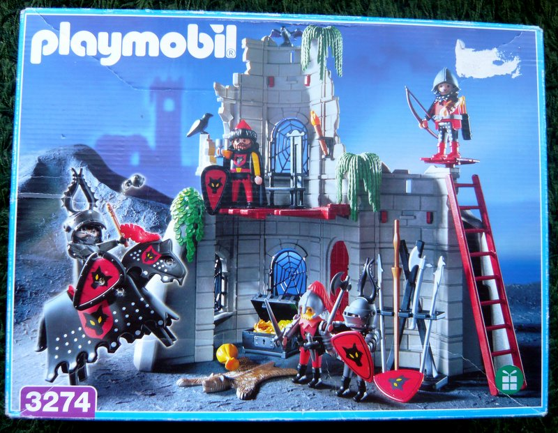 Playmobil 3274 - Wolf Clan Knights - Box
