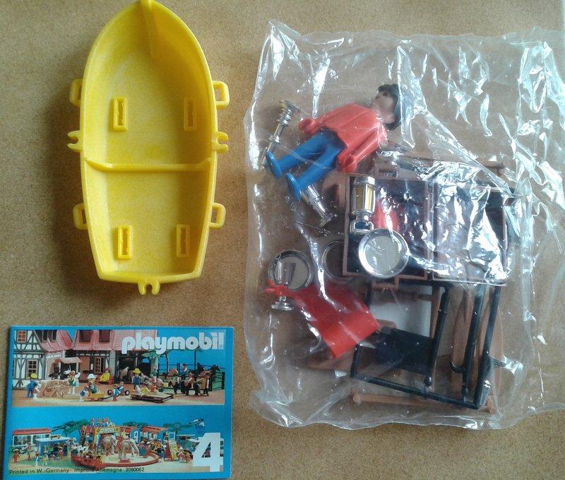 Playmobil 3570-ger - pirata / bote de remo - Volver