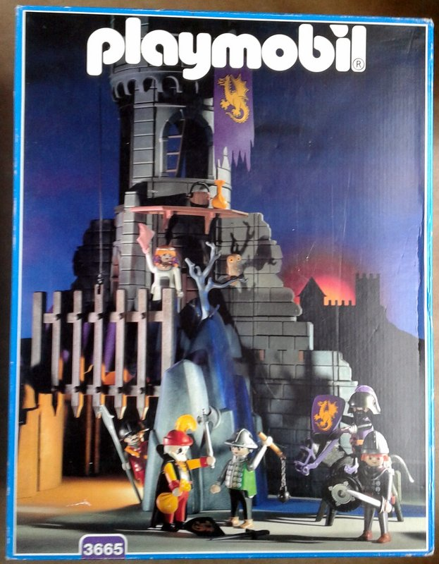 Playmobil 3665 - Baron's Battle Tower - Box