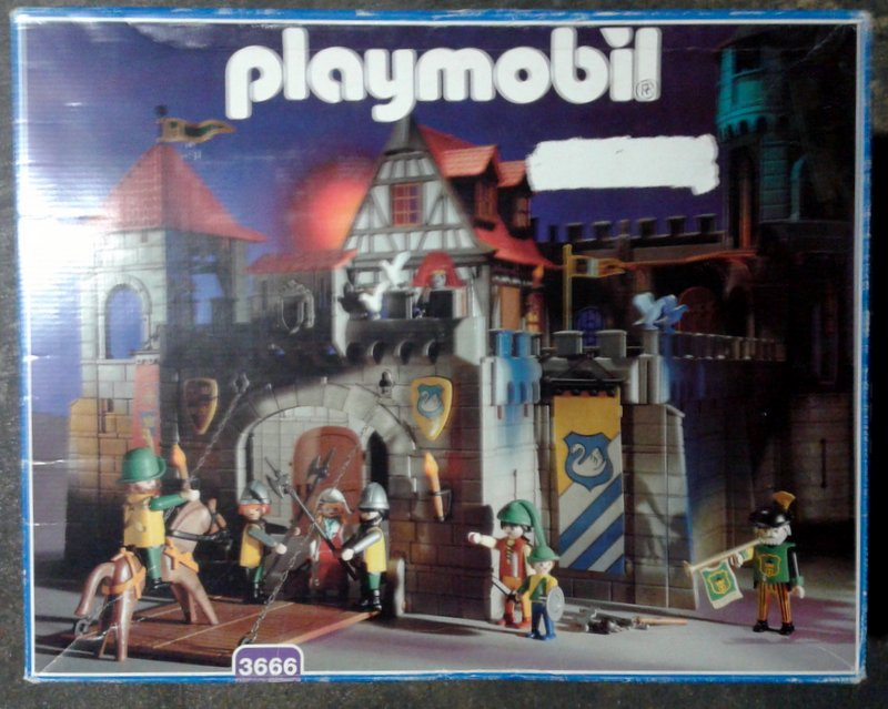 Playmobil 3666 - Kings Large Castle - Box
