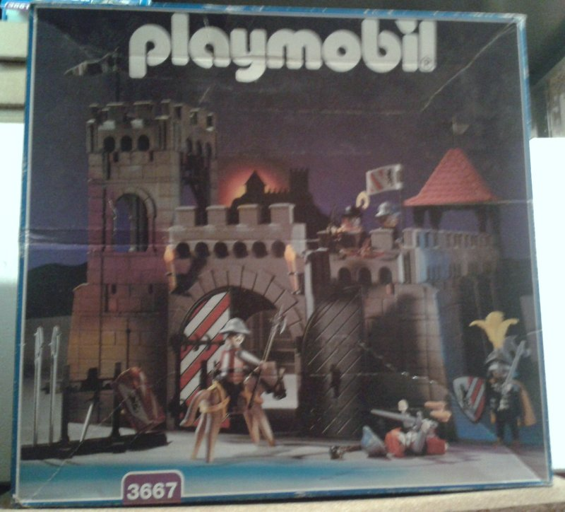 Playmobil 3667 - Small Castle - Box