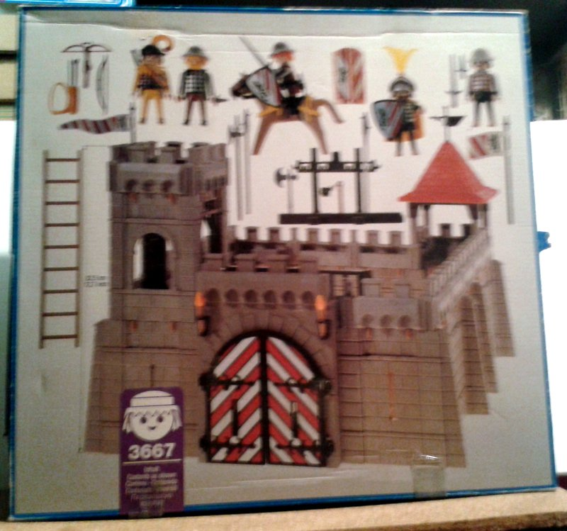 Playmobil 3667 - Small Castle - Back