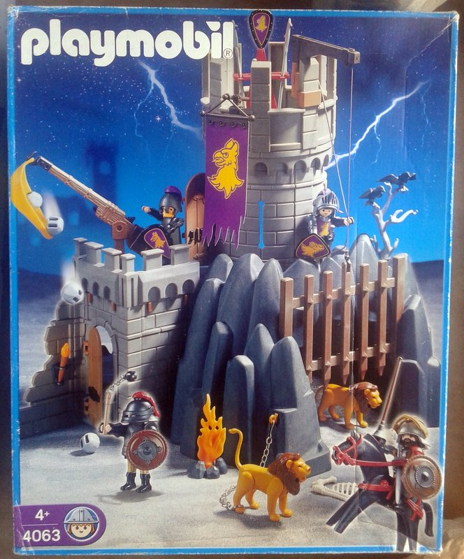 Playmobil 4063 - Battle Tower & Hideout - Box