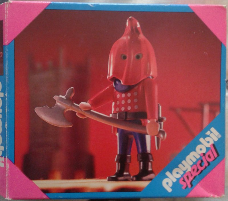Playmobil 4524 - Axe Man - Box