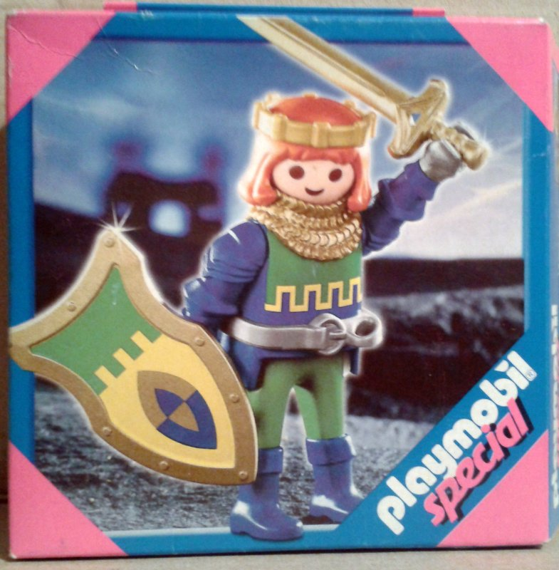 Playmobil 4643 - Brave Prince - Box