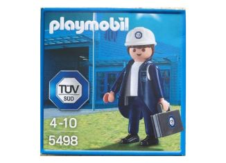 Playmobil - 5498-ger - Industrial auditor