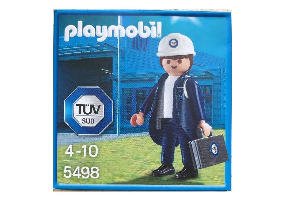 Playmobil Set: 5498-ger - Industrial auditor - Klickypedia