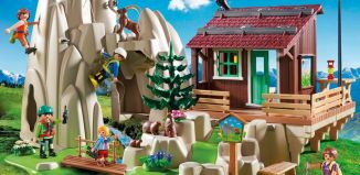 Playmobil - 9126 - Kletterfels mit Berghütte