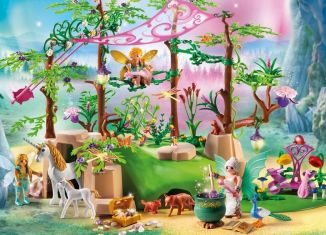 Playmobil - 9132 - Magical fairy forest