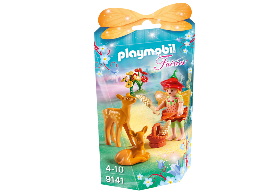 Playmobil 9141 - Fairy Girl with Fawns - Box