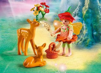 Playmobil - 9141 - Fairy Girl with Fawns