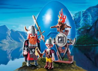 Playmobil - 9209 - Vikings with Shield