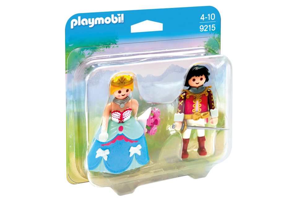 Playmobil Set 9215 Prince And Princess Klickypedia