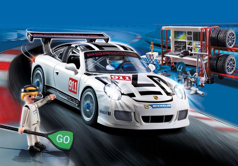 playmobil set 9225 porsche 911 gt3 cup klickypedia. Black Bedroom Furniture Sets. Home Design Ideas