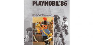Playmobil - 00000-ger - News catalogue 1986