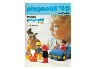 Playmobil - D0256/01.90-ger - Neuheiten Katalog 1990