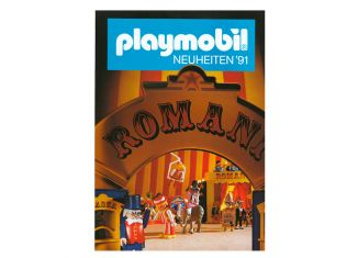 Playmobil - D0255/01.90-ger - Neuheiten Katalog 1991
