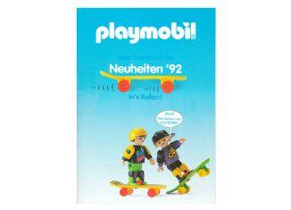 Playmobil - D0256/01.92-ger - Neuheiten Katalog 1992
