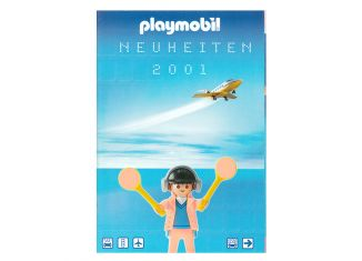 Playmobil - 00000-ger - News catalogue 2001