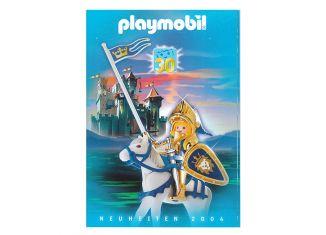 Playmobil - 30840256/01.2004-ger - Neuheiten Katalog 2004
