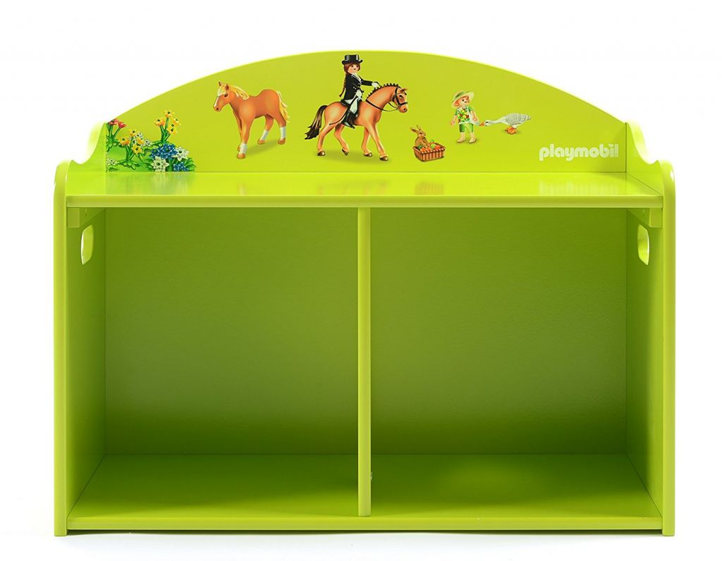 Playmobil 00000 - Wooden play bench - Ponys - Back