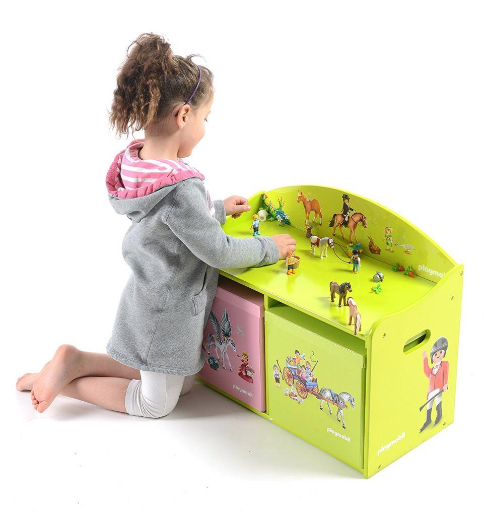Playmobil 00000 - Wooden play bench - Ponys - Box